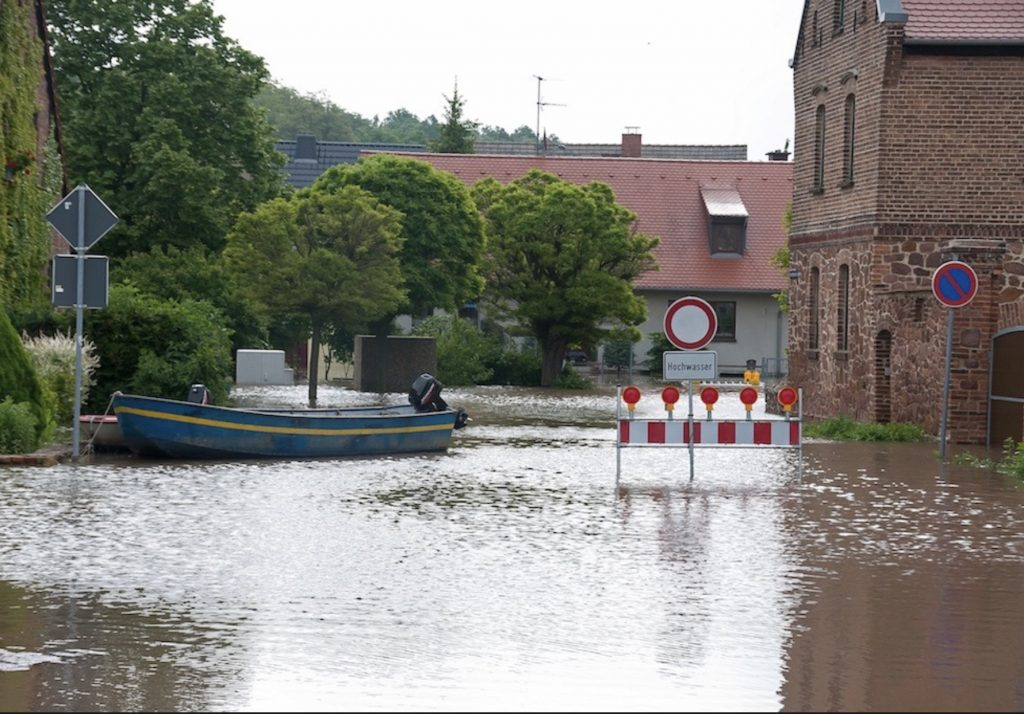 Jahrhundertflut in Brachwitz