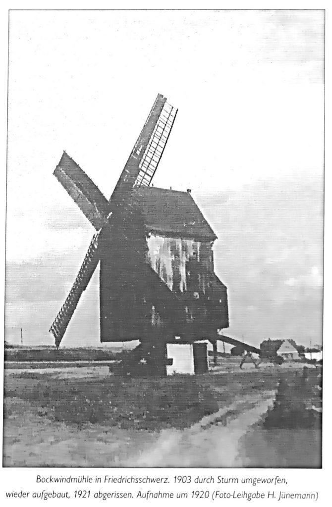 Ortsregulativ für Kolonie Friedrichsschwerz