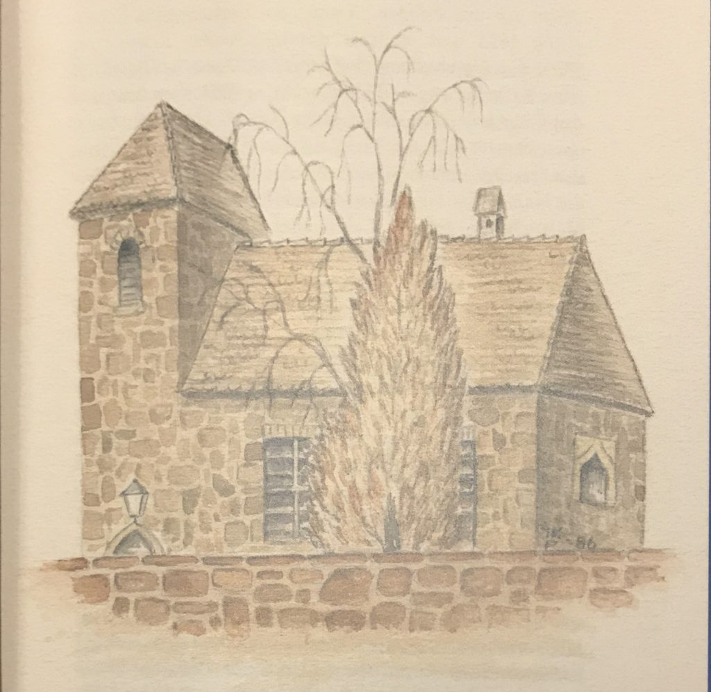 Die Kirche von Brachwitz